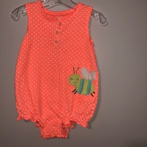 Carter's 18m orange romper